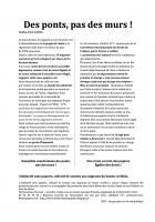 24 novembre, Creil - Solidarité sans papiers-Action de sensibilisation