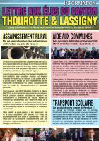 Lettre d'information n° 1 d'Hélène Balitout et Sébastien Nancel aux élus du canton de Thourotte et Lassigny - Janvier 2017