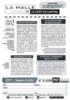 Tract « La Halle, c'est vraiment le coût du capital » - Section de Creil-Nogent-Villers, 28 janvier 2017