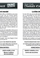 Tract « Le bilan de mi-mandat des élus du groupe Front de gauche » - Creil, 3 mars 2017