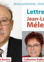 Lettre de Jean-Pierre Bosino, sénateur de l'Oise, maire de Montataire, et de Catherine Dailly et Alain Blanchard, conseillers départementaux de l'Oise, à Jean-Luc Mélenchon - 13 mars 2017