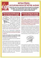 30 mars, Creil - Journée d'action intersyndicale pour l'amélioration du pouvoir d'achat des retraités