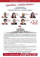 Tract « Faisons entrer le peuple à l'Assemblée nationale » - Circonscriptions de l'Oise, 12 mai 2017