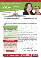 4 pages « Faisons entrer le peuple à l'Assemblée nationale » - 2e circonscription de l'Oise, 17 mai 2017