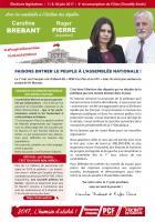 4 pages « Faisons entrer le peuple à l'Assemblée nationale » - 4e circonscription de l'Oise, 17 mai 2017