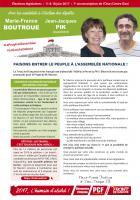 4 pages « Faisons entrer le peuple à l'Assemblée nationale » - 7e circonscription de l'Oise, 17 mai 2017