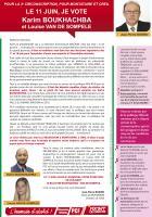 Appel de Jean-Pierre Bosino : « Le 11 juin, je vote Karim Boukhachba et Louise Van de Sompele (suppléante) » - 3e circonscription de l'Oise, 2 juin 2017