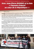 4 pages « Avec Jean-Pierre Bosino et la liste