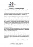 Communiqué de Jean-Pierre Bosino suite aux résultats de la sénatoriale 2017 dans l'Oise