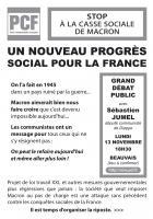 Tract « Un nouveau progrès social pour la France » - PCF Oise, 19 octobre 2017