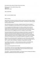 Lettre ouverte à M. le Maire concernant la couverture médicale à Crépy-en-Valois - 20 novembre 2017