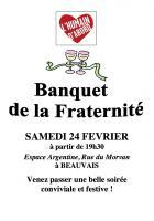 Invitation « Repas de la Fraternité » - Section PCF de Beauvais, 24 février 2018