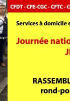 15 mars, Précy-sur-Oise - Journée nationale d'action « Ehpad »
