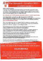 Grève « historique » chez Carrefour, le premier employeur privé de France-Tract distribué - Compiègne & Chantilly, 31 mars 2018