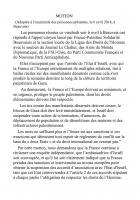Motion adoptée lors du rassemblement en solidarité avec les Palestiniens de Gaza - Beauvais, 6 avril 2018