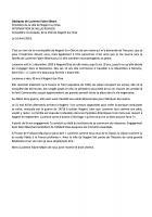 Hommage à Lucienne Fabre-Sébart, par Nellie Rochex, pour la municipalité de Nogent-sur-Oise - Nogent-sur-Oise, 16 avril 2018
