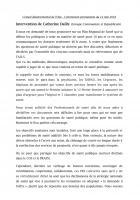 Intervention de Catherine Dailly sur la consultation du Plan Régional de Santé - Conseil départemental de l'Oise, 14 mai 2018
