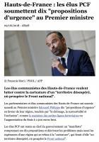 20180609-Europe 1-Hauts-de-France-Les élus PCF soumettent dix « propositions d'urgence » au Premier ministre