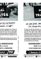 Flyer « 14 juin 2018, manif des retraités. CSG, blocage des pensions : ça suffit ! » - Collectif Retraité.e.s du PCF Oise, 14 juin 2018