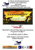 15 juin, Saint-Maximin - Le Musée des Bombardements-Conférence « Le jour le plus long », avec Frédéric Gondron