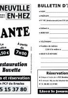 Flyer « Brocante à La Neuville-en-Hez » - Section PCF de Bresles, 8 juillet 2018