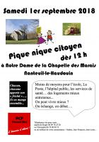 1er septembre, Nanteuil-le-Haudouin - Pique-nique citoyen