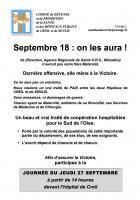 Tract « Septembre 18 : on les aura » - Comité de défense de l'hôpital de Creil, 27 septembre 2018
