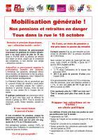 18 octobre, Beauvais - Manifestation départementale des retraité-e-s