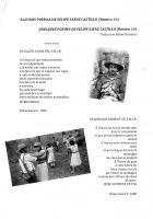 Quelques poèmes de Felipe Saenz Castillo (Ramiro 14) - Traduction Sabine Reynosa