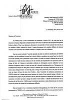 Dépôt d'une plainte de Jean-Pierre Bosino auprès du procureur du TGI de Senlis - Montataire, 8 janvier 2019