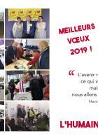 Invitation à une réception amicale autour de la galette et du verre de la Fraternité - PCF Creil, 26 janvier 2019