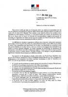 CDG Express : Rapport du préfet de la région Île-de-France à la ministres des Transports - 4 février 2019
