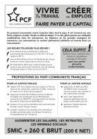 Tract « Pour une société plus juste » - PCF Montataire, 6 février 2019
