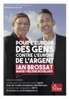 Flyer « Pour que nos vies changent, l'Europe doit changer » - PCF, mars 2019