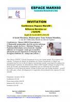 25 avril, Saint-Maximin - Espace Marx60-Conférence-débat « Réflexions marxistes sur l'Europe »