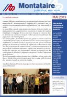 Montataire pour vous, avec vous - Bulletin des élus communistes et républicains de Montataire - Mai 2019