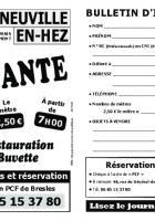 Flyer « Brocante à La Neuville-en-Hez » - Section PCF de Bresles, 7 juillet 2019