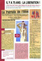 4 pages « Il y a 75 ans : la Libération » - PCF Beauvaisis, 2 septembre 2019