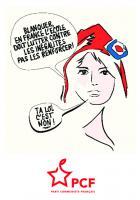 Flyer « Blanquer, ta loi c'est non » - PCF Montataire, 30 août 2019