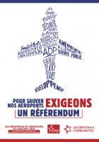 4 pages « Pour sauver nos aéroports, exigeons un référendum » - PCF, 13 septembre 2019