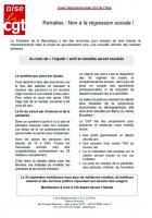 Tract « Retraites : non à la régression sociale » - UD CGT Oise, 24 septembre 2019