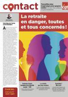 4 pages « La retraite en danger, toutes et tous concernés » - CGT, 30 octobre 2019