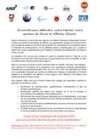 Appel unitaire « Ensemble pour défendre notre hôpital, notre système système de santé et d'action sociale » - France, 14 novembre 2019