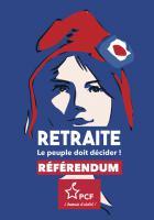 Flyer « Retraite, le peuple doit décider : référendum ! » - PCF, 13 janvier 2020