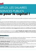 Pétition « De l'argent pour l'emploi, les salaires et les services publics, pas pour le capital » - PCF, juillet 2020