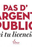 Affichettes « Campagne Emploi »-8 déclinaisons - PCF, 7 octobre 2020