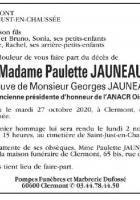 Paulette Jauneau, figure de la Résistance et du communisme oisien, nous a quitté·e·s à l'âge de 98 ans