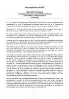 Projet de texte pour la Conférence nationale adopté par le Conseil national du PCF le 13 mars 2021