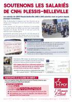 Soutenons les salariés de CNHi Plessis-Belleville - PCF Nanteuil, 8 avril 2021