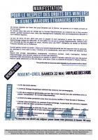 22 mai, Nogent-sur-Oise - Manifestation pour le respect des droits des mineurs et jeunes majeurs étrangers isolés